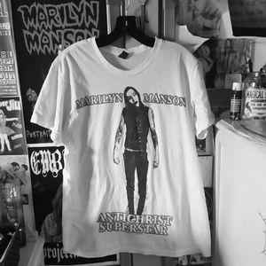 Tops - Marilyn Manson Antichrist Superstar Shirt